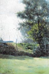 Пейзаж. Вель. 1890