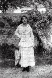 Вера Похитонова-Бьенэмэ. Фото. Начало 1920-х годов