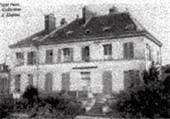 Здание пансиона «Русский очаг» в Верьер-ле-Бюисоне. Фото. 1940-е