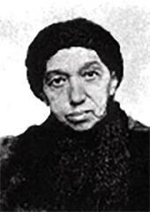 В.А. Похитонова, мать художника. Фото. 1880-е