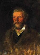 Портрет П.Д. Похитонова, отца художника. Конец 1860-х