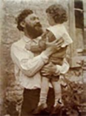 И.П. Похитонов с сыном Борисом. Фото. 1897