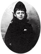 Борис Вульферт-Похитонов, сын художника. Фото. Начало 1900-х