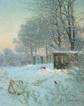Силок для воробьев (Эффект снега). 1890-е