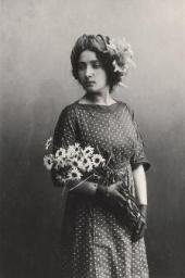 Белла Розенфельд. Витебск, апрель 1911