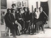Преподаватели Народного художественного училища. Витебск, 26 июля 1919.