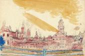 Вид Витебска. 1914