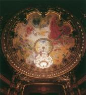 Плафон Гранд-Опера. Париж. 1964