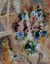 Цветы. 1951