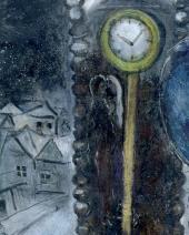 Часы с синим крылом. Фрагмент