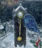 Часы с синим крылом. 1949