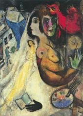 Марк Шагал. Черная перчатка. 1923–1948