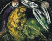 Марк Шагал. Пророк Иеремия. 1968