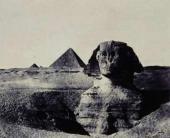 Максим дю КАМП Средний Египет: сфинкс.
