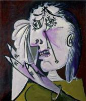 Пабло ПИКАССО. Рыдающая женщина. 1937