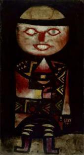Пауль КЛЕЕ. Актер. 1923