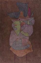 Пауль КЛЕЕ. Демоническая Леди. 1935