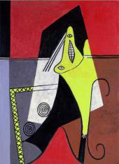 Пабло ПИКАССО. Женщина, сидящая в кресле, Канны. 1927