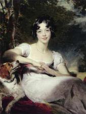 Томас ЛОУРЕНС. Леди Мария Конингем. Oк. 1824–1825.