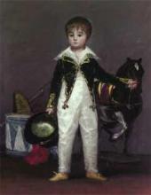 Франcиско ГОЙЯ. Хосе Коста-и-Бонелс, по прозвищу Пепито. 1813 (?)