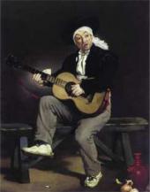 Эдуард МАНЕ. Гитарист. 1860