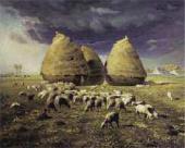 Жан Франсуа МИЛЛЕ. Стога: oсень. Oк. 1874