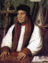 Портрет Уильяма Уорхема, архиепископа Кентеберийского. 1527