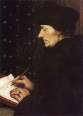 Портрет Эразма Роттердамского. 1523