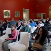 Открытие выставки офортов Светланы Ланшаковой «Марина Цветаева - 125» в Тарусе