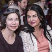 Светлана Ланшакова и Ирина Мащицкая, Президент Фонда ГРАНИ