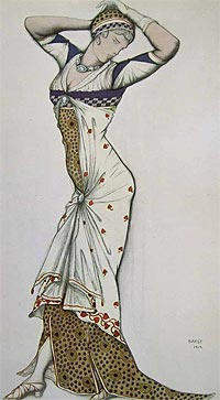 Лев Бакст: «Одевайтесь, как цветок!»