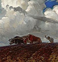 Небо и земля Фердинанда Рущица