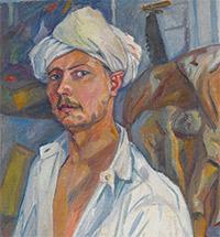 Михаил Ларионов в Третьяковской галерее