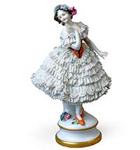 Русский балет в зеркале «кружевного» фарфора заводов Тюрингии