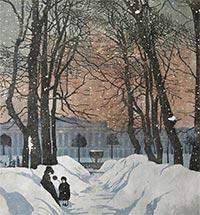 Образ Санкт-Петербурга в творчестве А.П. Остроумовой-Лебедевой