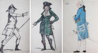 Эскизы костюмов Александра Бенуа к фильму <Наполеон> впервые покажут в Москве
