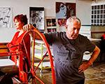 «Принцип красного». Выставка Андрея Макаревича и Аллы Решетниковой в Cube.Moscow