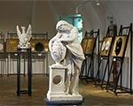 В выставочном зале Некрополя мастеров искусств открылась постоянная экспозиция «Знаки памяти»
