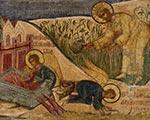 Выставка фресок затопленного монастыря в Музее архитектуры