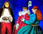 Открылась выставка Татьяны Назаренко «ДИАЛОГ СО ВРЕМЕНЕМ» в Российской академии художеств