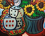 Выставка произведений Зураба Церетели «Цветы в театре» в «Геликон-Опера»
