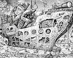 «Это мы!». Графика, карикатура. Выставка произведений Игоря Смирнова в Российской академии художеств