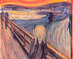 """Читатели журнала """"Третьяковская галерея"""" познакомились со всемирно известной картиной Э. Мунка """"Крик"""" в 2006 году!"""