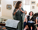 Вечер французской музыки в Тарусском музее семьи Цветаевых